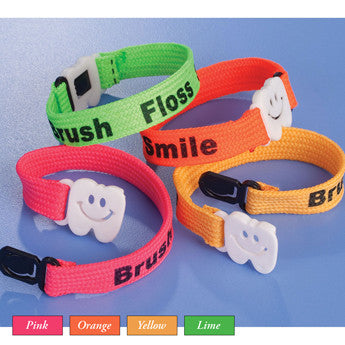 Brush Floss Smile Bracelets - 108524