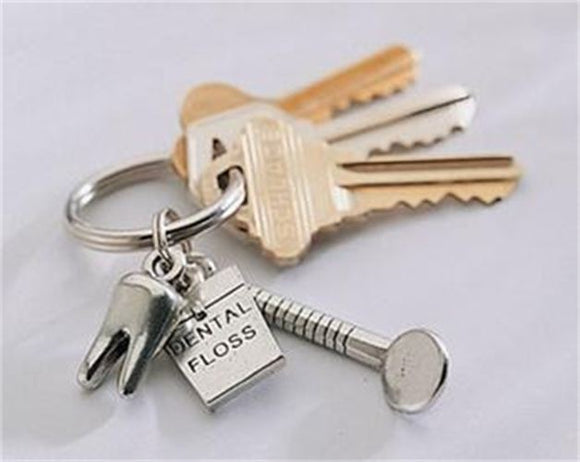 Dental Charm Keyring - 9081410