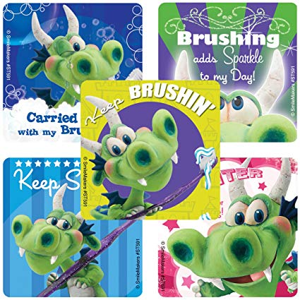 Dragon Brushing Stickers - ST591