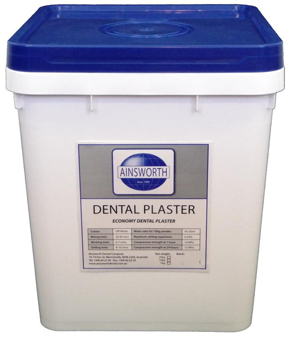 Ainsworth Dental Plaster