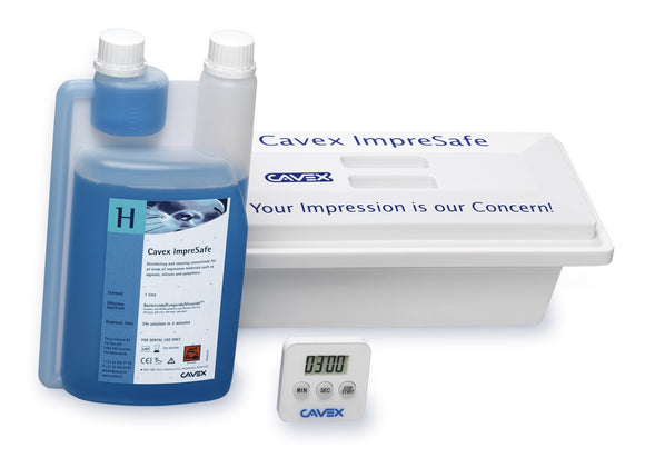 Cavex Impresafe Impression Disinfection System