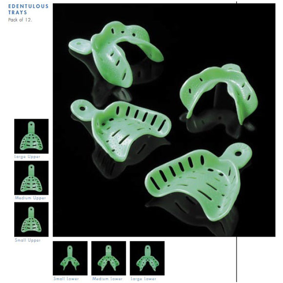 Unident Impression Trays Edentulous