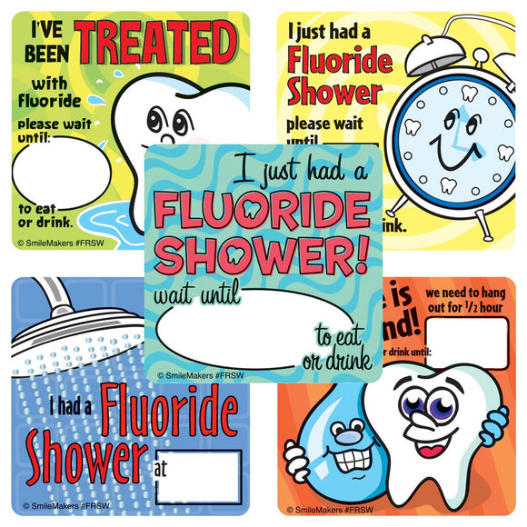 Fluoride Stickers - FRSW