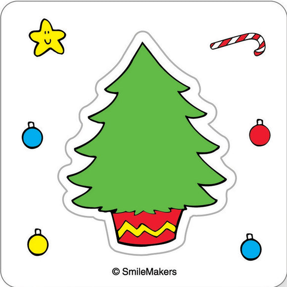 Make Your Own Christmas Tree Stickers - MYOX
