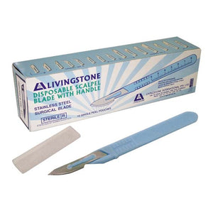 Disposable Scalpel Blade With Handle