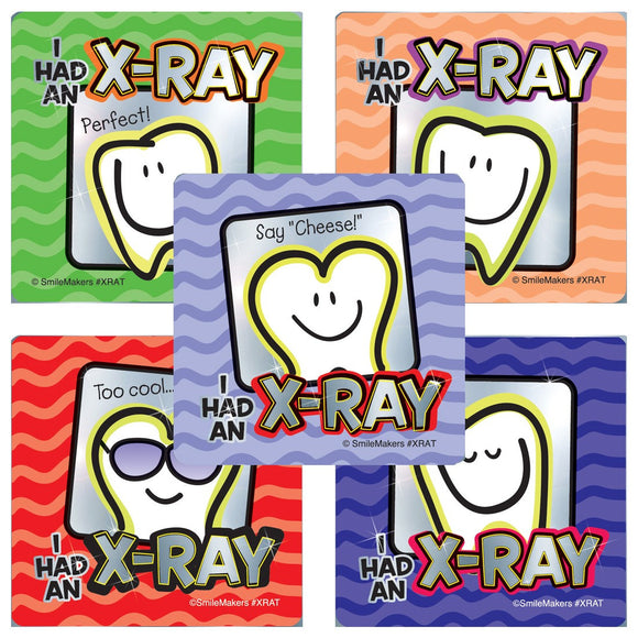 X-Ray Stickers - X-RAT