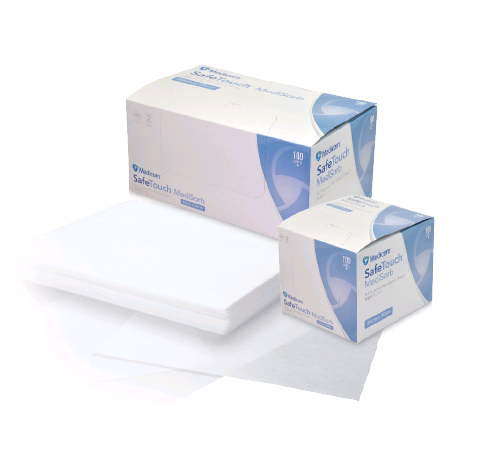SafeTouch Medisorb All Purpose Non-Woven Towel (100) - From