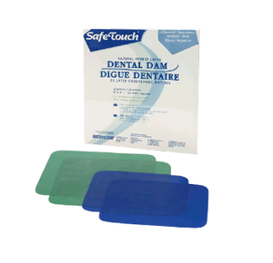 SafeTouch Latex Dental Dams