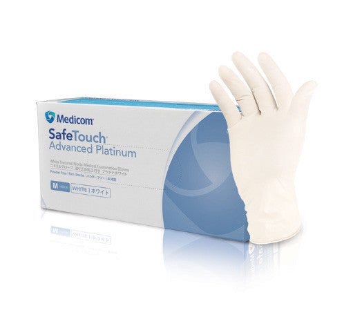 SafeTouch Advanced Platinum/Slim Powder Free Gloves - 1174/1175