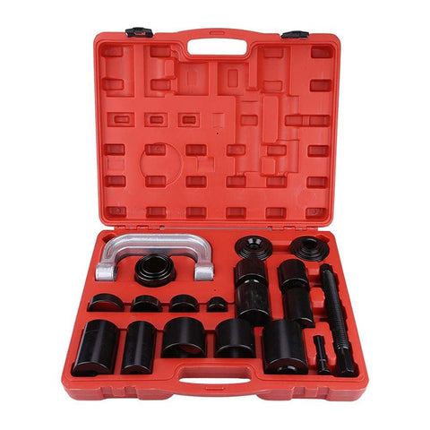 21 Pcs Universal Ball Joint Service Tool Set / Auto Car Repair Press Remover Separator Installing C-Frame Kit