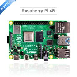 Latest Raspberry Pi 4 Model B with 2/4/8GB RAM raspberry pi 4 BCM2711 Quad core Cortex-A72 ARM v8 1.5GHz Speeder Than Pi 3B
