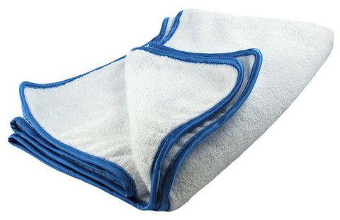 DRYING White SUPER PLUSH Large Microfibre Towel