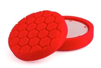 "150mm (6"") PRO-DETAIL RED Ultra Fine Finishing Pad"