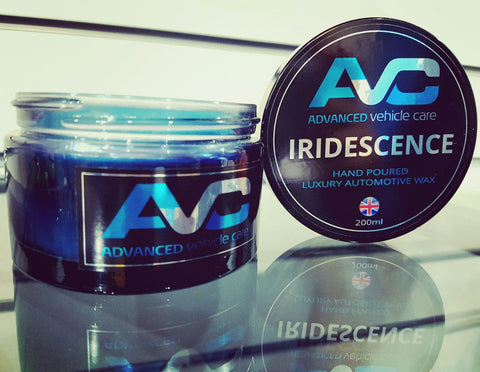 Iridescence Luxury Automotive Paste Wax 200ml