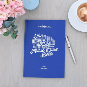 Copy of Personalised 1970s Music Quiz Book - PureEssenceGreetings