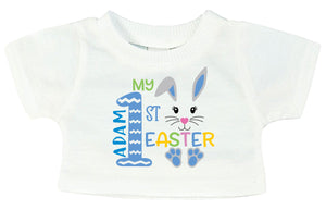 Easter Personalised Teddy Bear T-Shirt PureEssenceGreetings