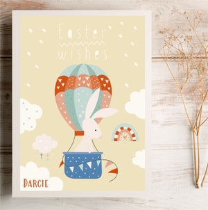 Easter Wishes Personalised Card | E5 PureEssenceGreetings
