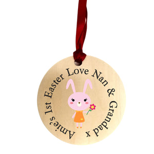 Easter Wood Heart | Gift Tag | Plaque | Decoration PureEssenceGreetings
