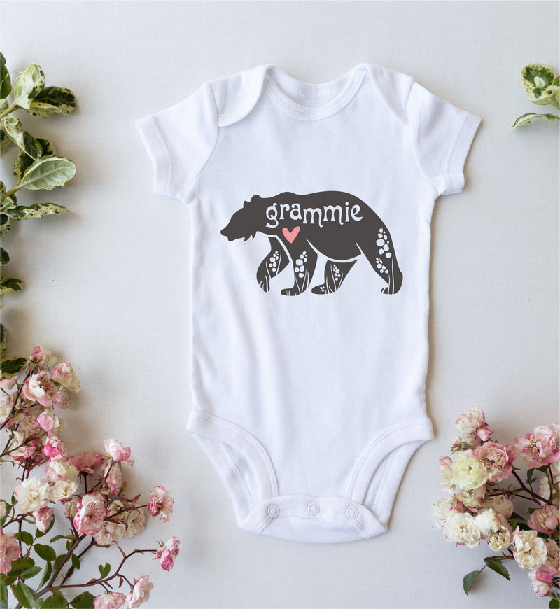 Grammie Personalised Babygro PureEssenceGreetings