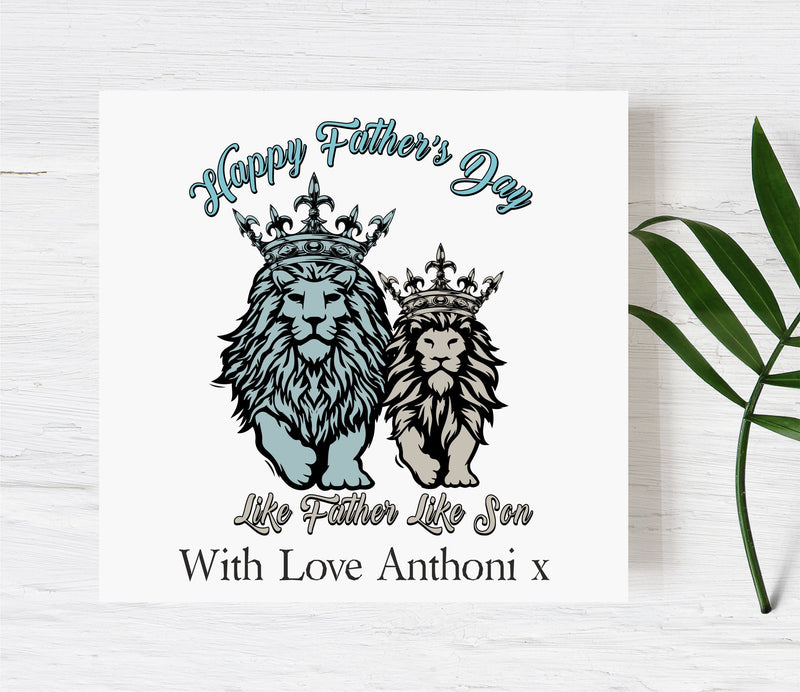 Happy Father's Day Card | Like Father Like Son PureEssenceGreetings