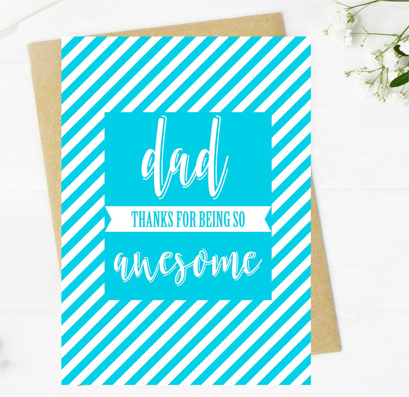 Happy Father's Day Card PureEssenceGreetings
