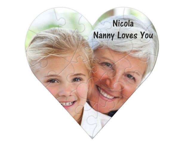 Love you Personalised Jigsaw PureEssenceGreetings