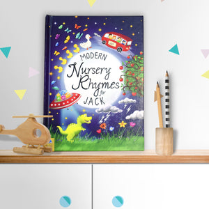 Personalised Modern Nursery Rhymes Book - PureEssenceGreetings