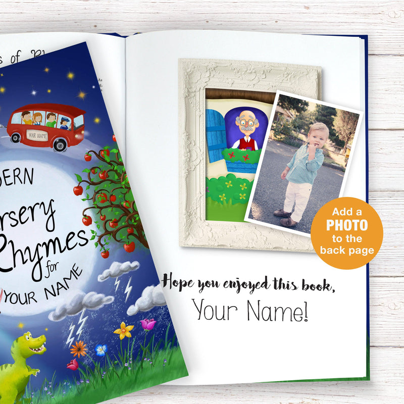 Personalised Modern Nursery Rhymes Book