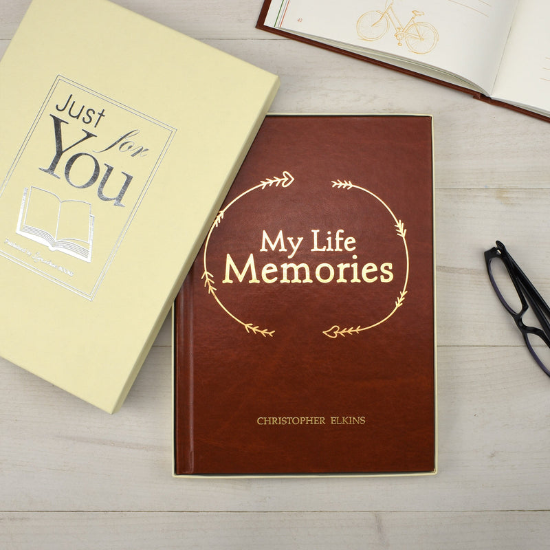 Personalised My Life Memories Book