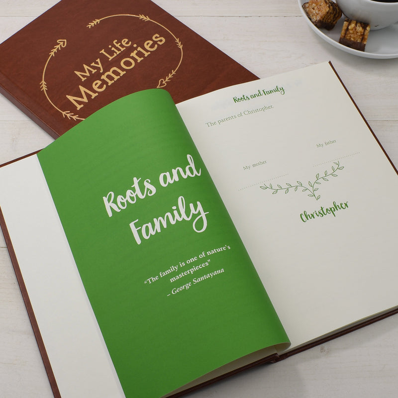 Personalised Lifetime Memory Book - PureEssenceGreetings