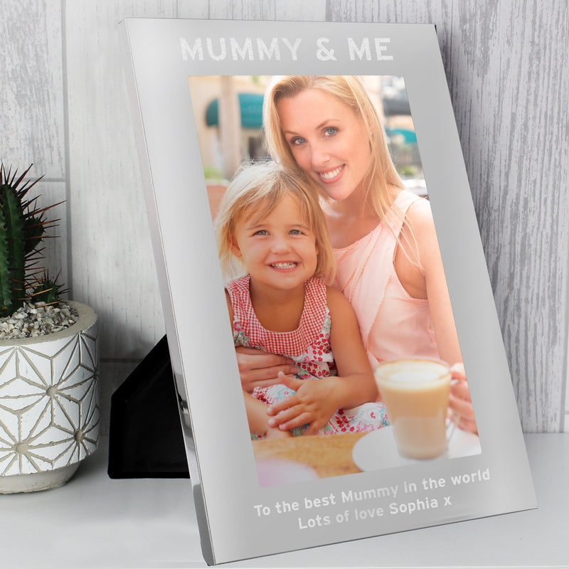 Personalised & Me 7x5 Silver Photo Frame - PureEssenceGreetings