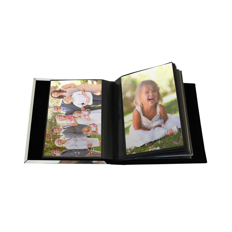 Personalised Mr & Mrs Photo Frame Album 6x4