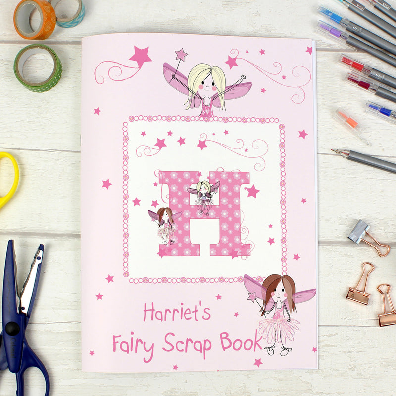 Personalised Fairy - A4 Scrapbook - PureEssenceGreetings