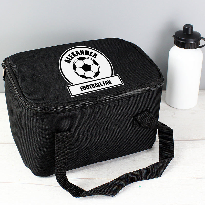 Personalised Football Fan Lunch Bag