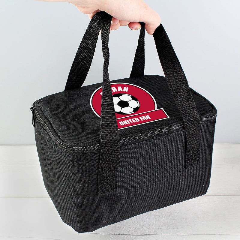 Personalised Football Fan Lunch Bag - PureEssenceGreetings
