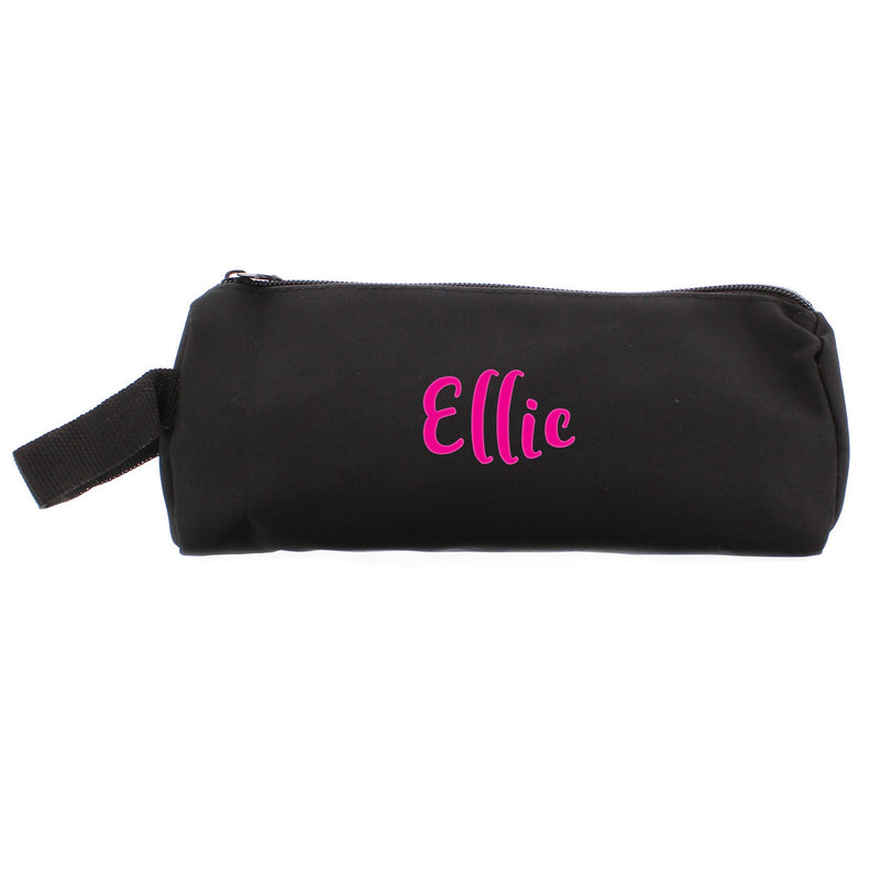 Personalised Pink Name Pencil Case - PureEssenceGreetings