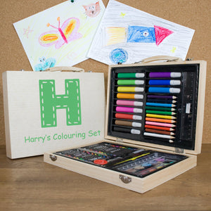 PERSONALISED CHILDREN'S COLOURING IN SET PureEssenceGreetings