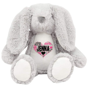 Personalised Bunny Teddy Bear PureEssenceGreetings