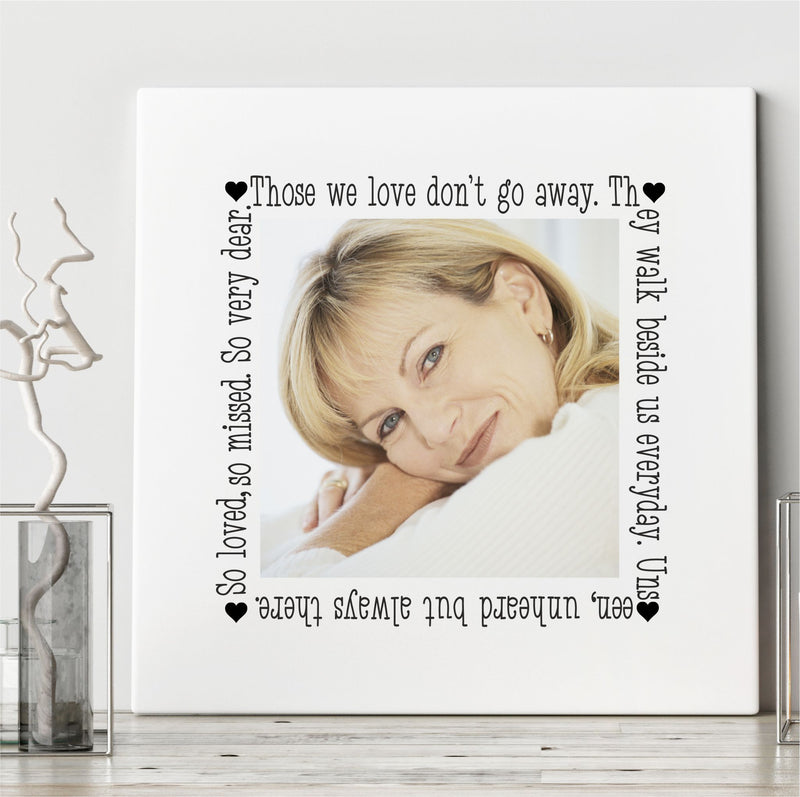 Personalised Memorial Ceramic Plaque - So Loved PureEssenceGreetings