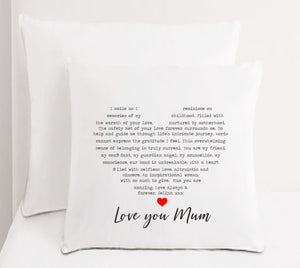 Personalised Mum Cushion | Inspirational Mum - PureEssenceGreetings