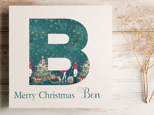 Personalised Nutcracker Design Christmas Card PureEssenceGreetings