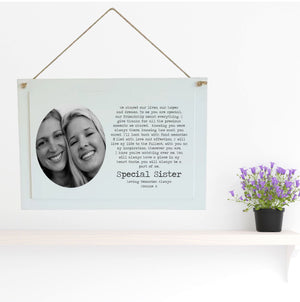 Personalised Remembrance Box Frame Poem - A Part of Me - Sister | Brother | Friend PureEssenceGreetings