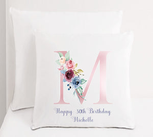 Personalised Special Wishes Birthday Cushion PureEssenceGreetings