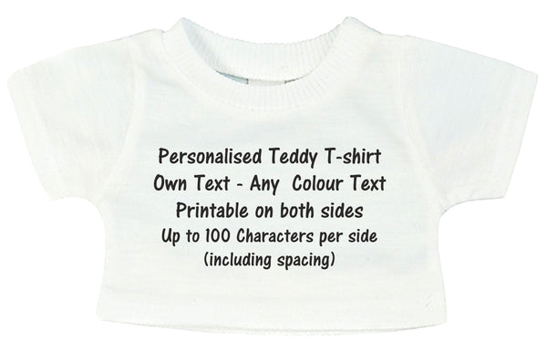 Personalised Teddy Bear T-Shirt PureEssenceGreetings