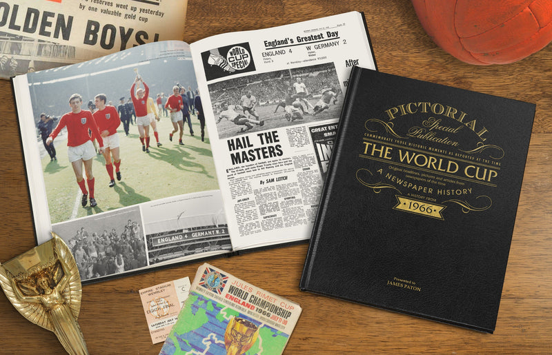 Football World Cup 1966 Pictorial Edition - PureEssenceGreetings