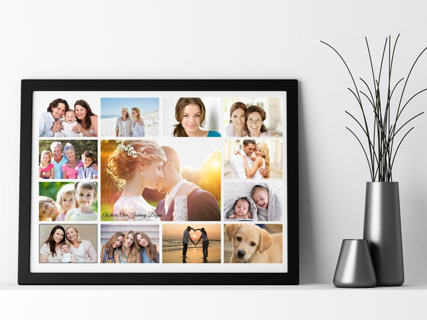Photo Collage Personalised Poster