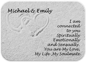 Soulmates Personalised Love Wallet Card - PureEssenceGreetings