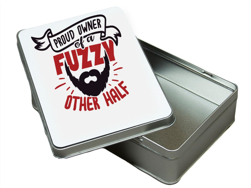 The 'Other Half' Bearded Personalised  Tin PureEssenceGreetings