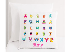 Children's Alphabet Cushion - PureEssenceGreetings