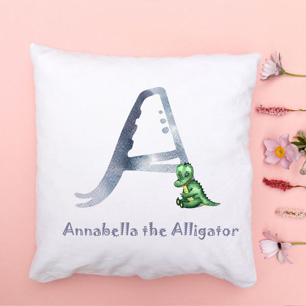 Children's Initial Animal Alphabet Cushion & Poster